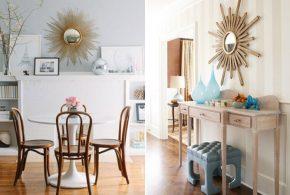 Зеркало-солнце: выразительный и стильный элемент любого интерьера
