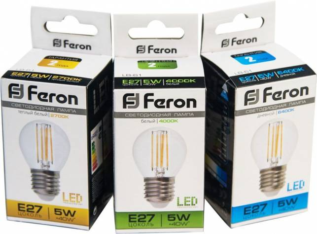 Светодиодные лампы FERON