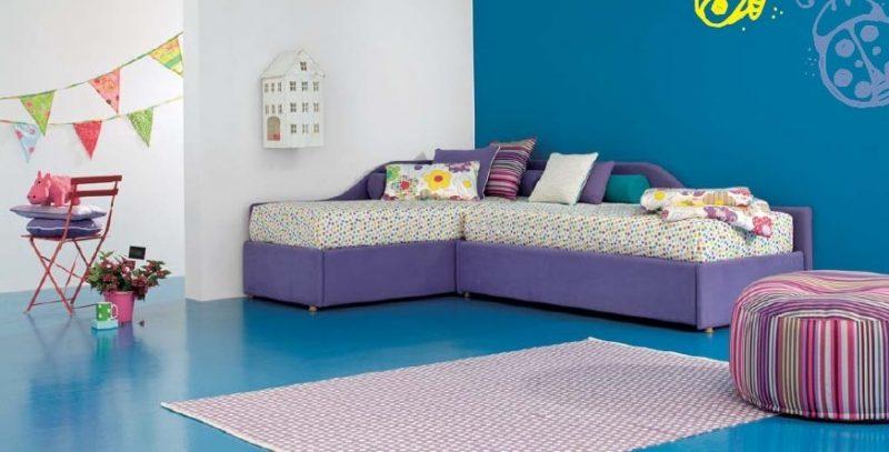угловой диван для ребенка