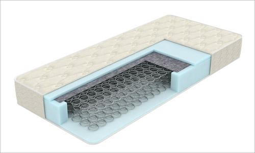 Розріз блоку залежних пружин (Бонель)