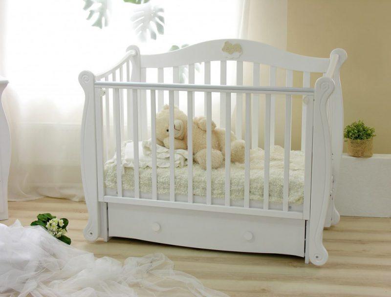 Какая кроватка нужна новорожденному