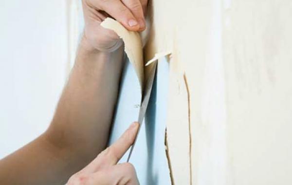Подготовка стен под поклейку обоев