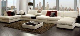 Большой диван – максимум комфорта и красоты