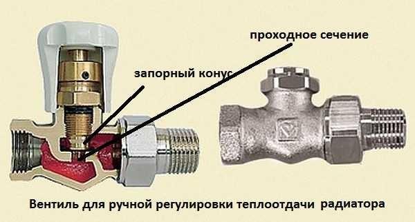 Краны для радиаторов отопления