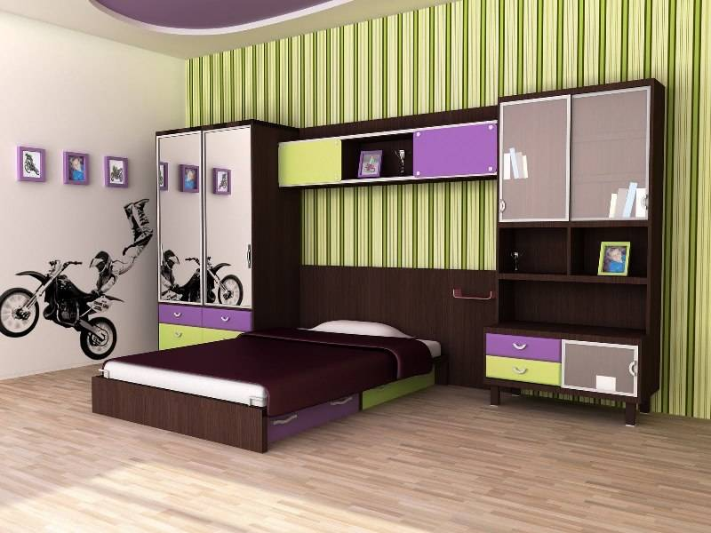 Комплект молодежной мебели Снайт Лофт