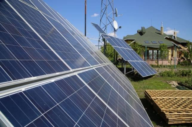 Сонячна електростанція під зелений тариф