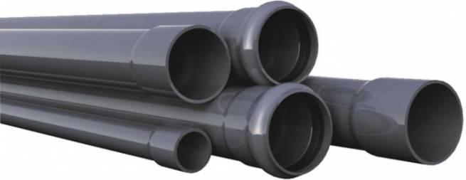 Трубы ПВХ, используемые для наружной канализации