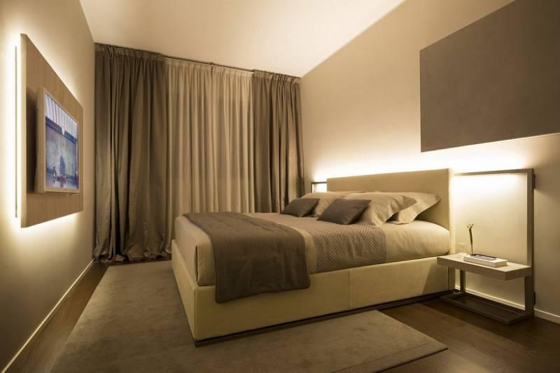 Світлодіодне освітлення в спальні