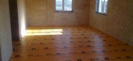 Укладання піноплексу на підлогу