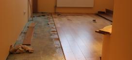 Як стелити паркетну дошку на бетонну підлогу
