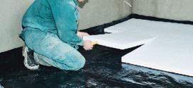 Пінопласт для підлоги