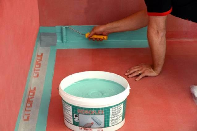 гідроізоляція дерев'яної підлоги у ванній