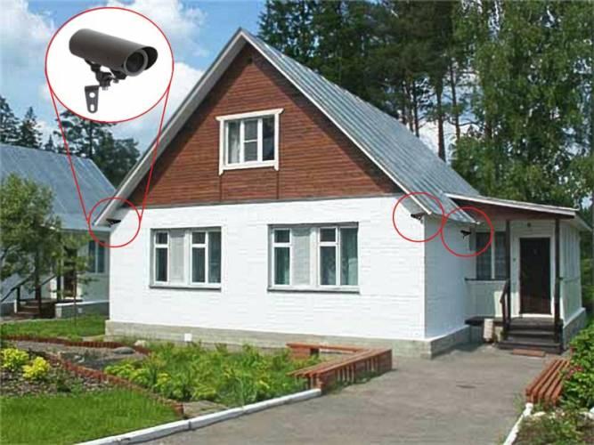 Як організувати охорону заміських приватних будинків