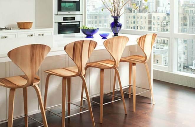 Барные стулья для дома: рекомендации по выбору