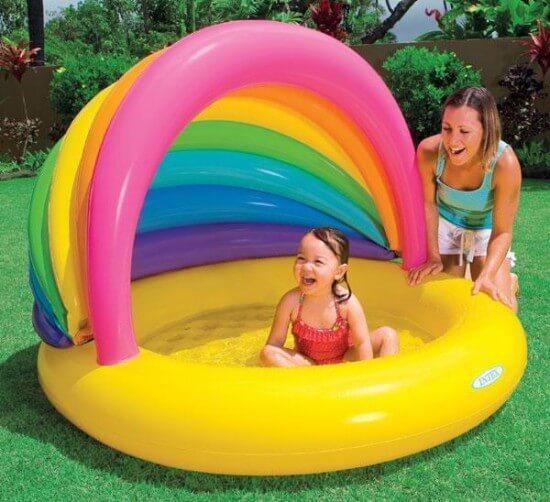 Як вибрати надувний басейн