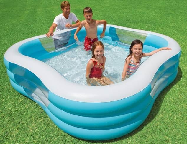 Надувний басейн: критерії вибору