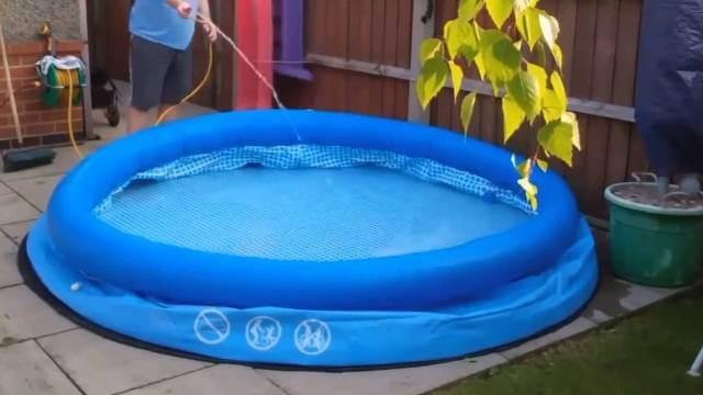 Як наповнювати басейн