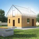 Структурно-изолированные панели в индивидуальном проекте дома