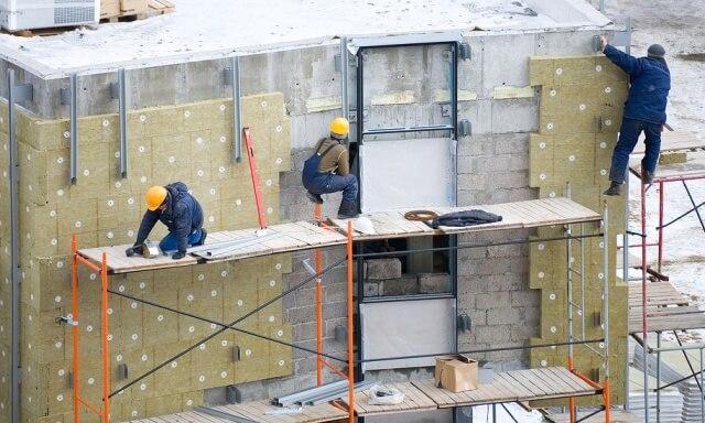 Основные этапы монтажа вентиляционных фасадов