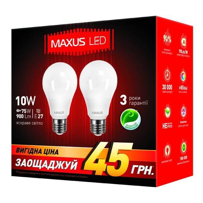 Лампы дневного света MAXUS