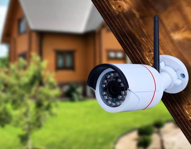 установка систем видеонаблюдения в частном доме