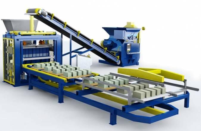 Оборудование, необходимое для производства тротуарной плитки