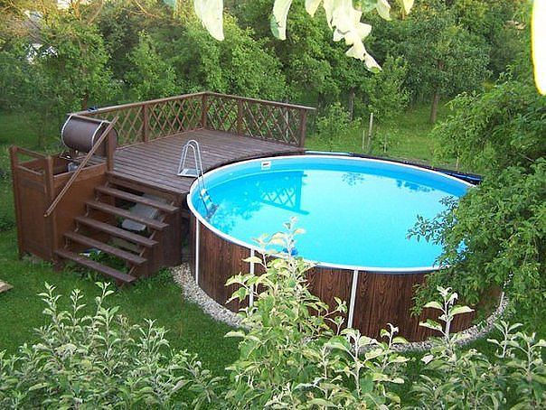Вибираємо басейн для дачі