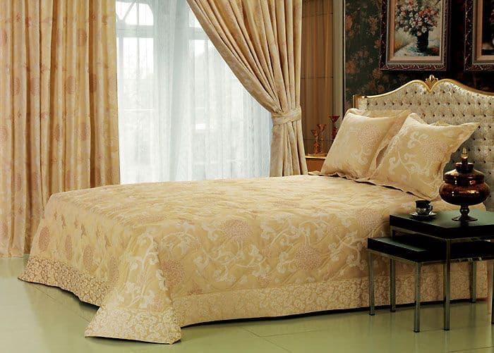 тканевые шторы для спальни
