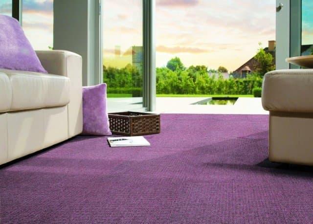 Мягкое и теплое ковровое покрытие
