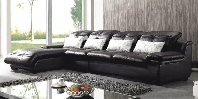 Кожаный диван: выгодные стороны такой покупки