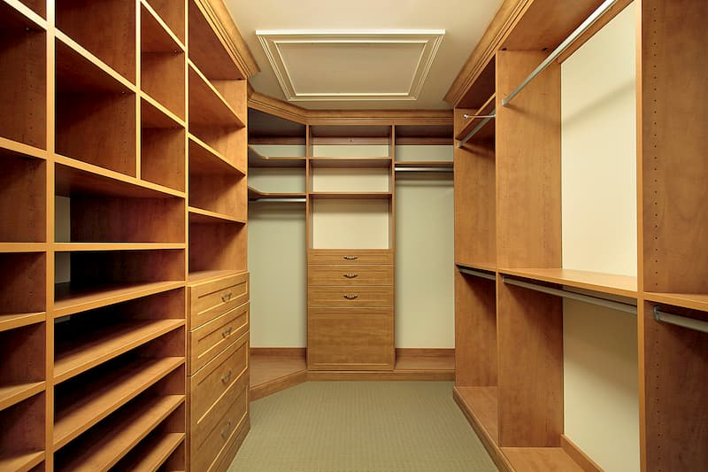 Гардеробные комнаты: преимущества