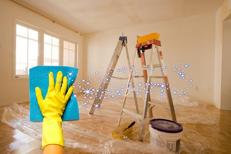Прибирання квартири після ремонту