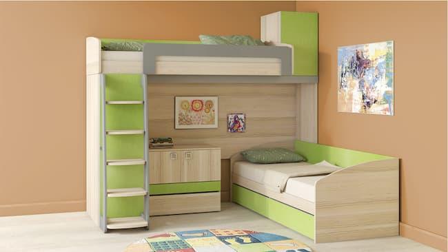 переваги двоярусного ліжка