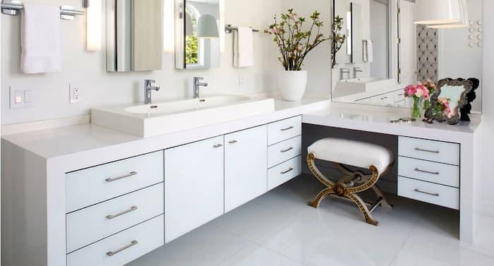 меблі для ванної кімнати в стилі модерн