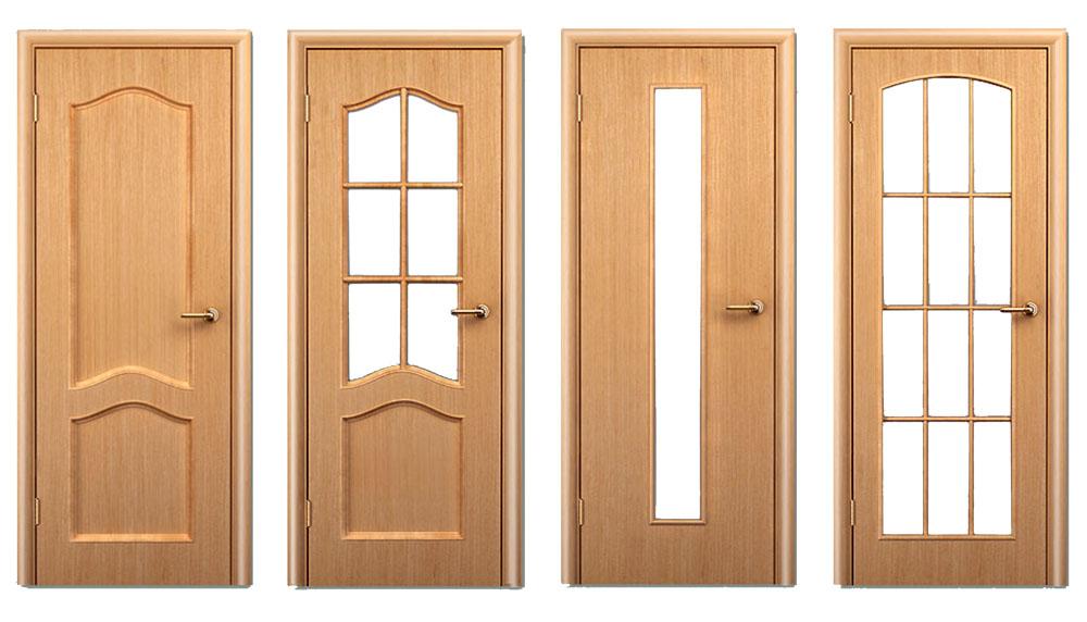 межкомнатные двери из дерева мдф