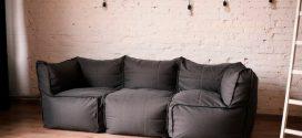 Безкаркасні дивани: особливості, плюси, мінуси, фото