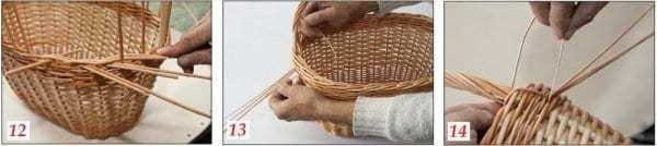 Плетіння кошиків з лози своїми руками
