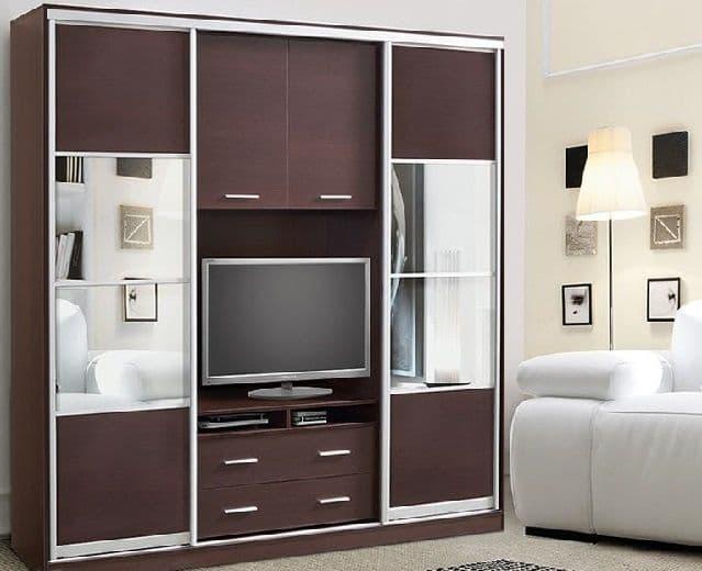 шкаф-купе под телевизор