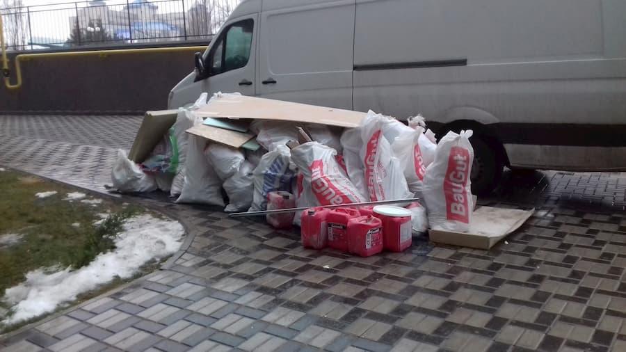 Як підготувати вивіз будівельного сміття