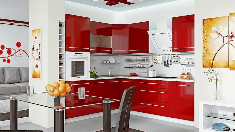 Преимущества заказа мебели для кухни по индивидуальному проекту