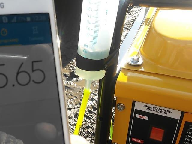 Скільки палива витрачає електрогенератор