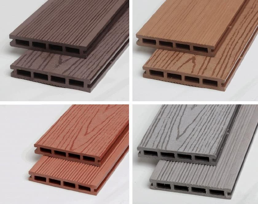 Доска террасная из древесно-полимерного композита