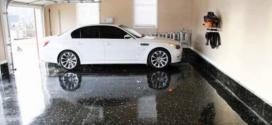 Мармурова підлога в гаражі своїми руками: з пінопласту, відео