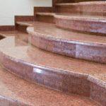 Каменная лестница из гранита