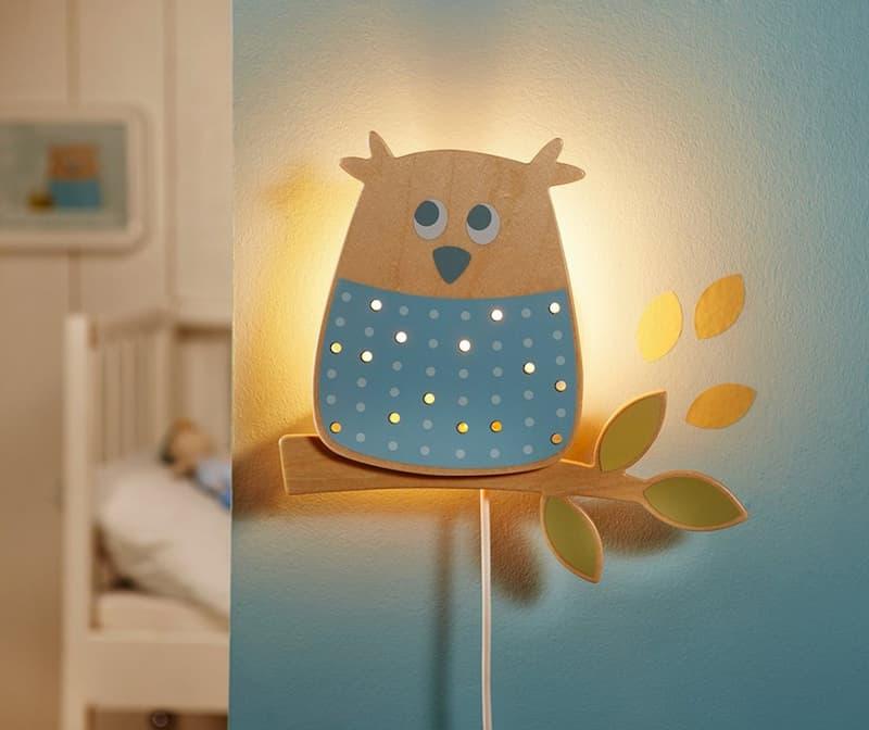 Детский настенный светильник