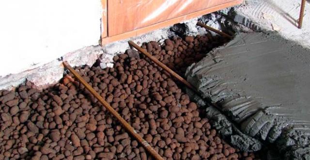 Утеплення підлоги на балконі керамзитом: як залити, відгуки