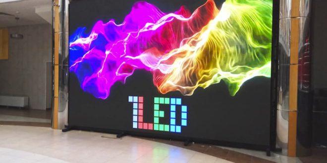 Почему led-экраны так эффективны при оформлении рекламы помещения?
