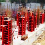 Опалубка для колонн: виды и конфигурации