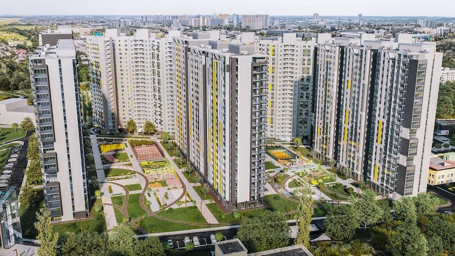 О преимуществах покупки 3-х комнатной квартиры в новострое в Киеве ЖК Голосеевская долина