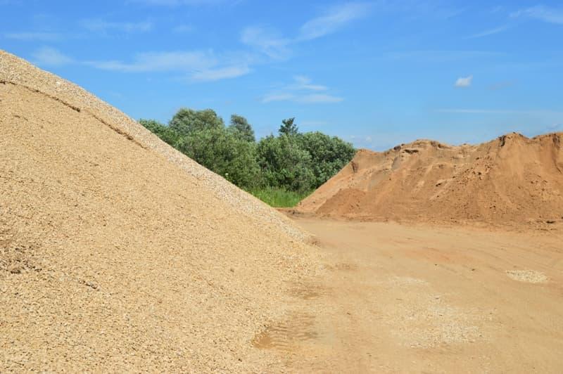 использования разных видов строительного песка